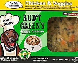 Chicken And Veggies Frozen Human Grade Dog Food