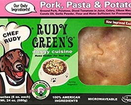Pork,Pasta And Potato Frozen Human Grade Dog Food