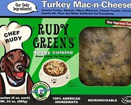 Turkey Mac-N-Cheese Frozen Dog Food