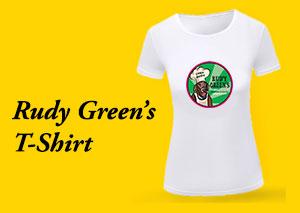 Rudy Green's T-shirt